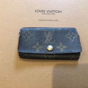 Authentic Louis Vuitton monogram key holder wallet